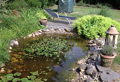 Galabau-Knof Hausgartenbau und Gestaltung von Außenanlagen - Gartenteiche