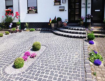 Galabau-Knof Hausgartenbau und Gestaltung von Außenanlagen - Eingangsbereiche