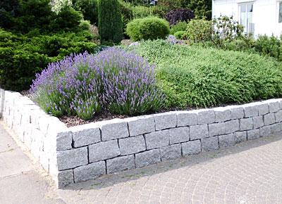 Galabau-Knof Hausgartenbau und Gestaltung von Außenanlagen - Mauern