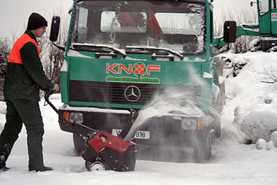 Winterdienst in Sudberg und Cronenberg durch Galabau Knof
