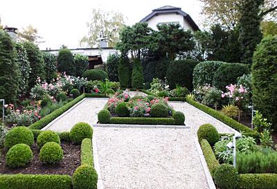 Individuelle Gartenanlage