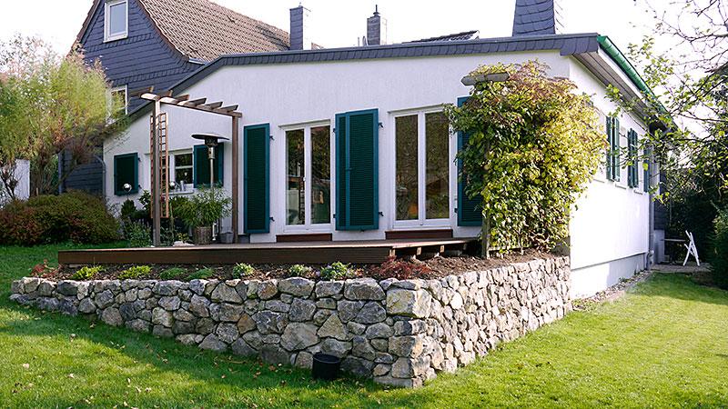 Nazursteinmauer Knof Garten- und Landschaftbau